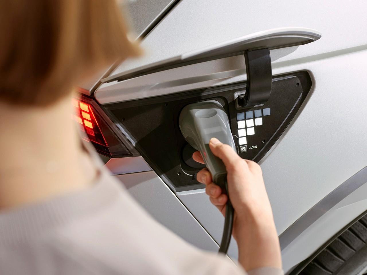 ricarica Hyundai Ioniq 5 2021