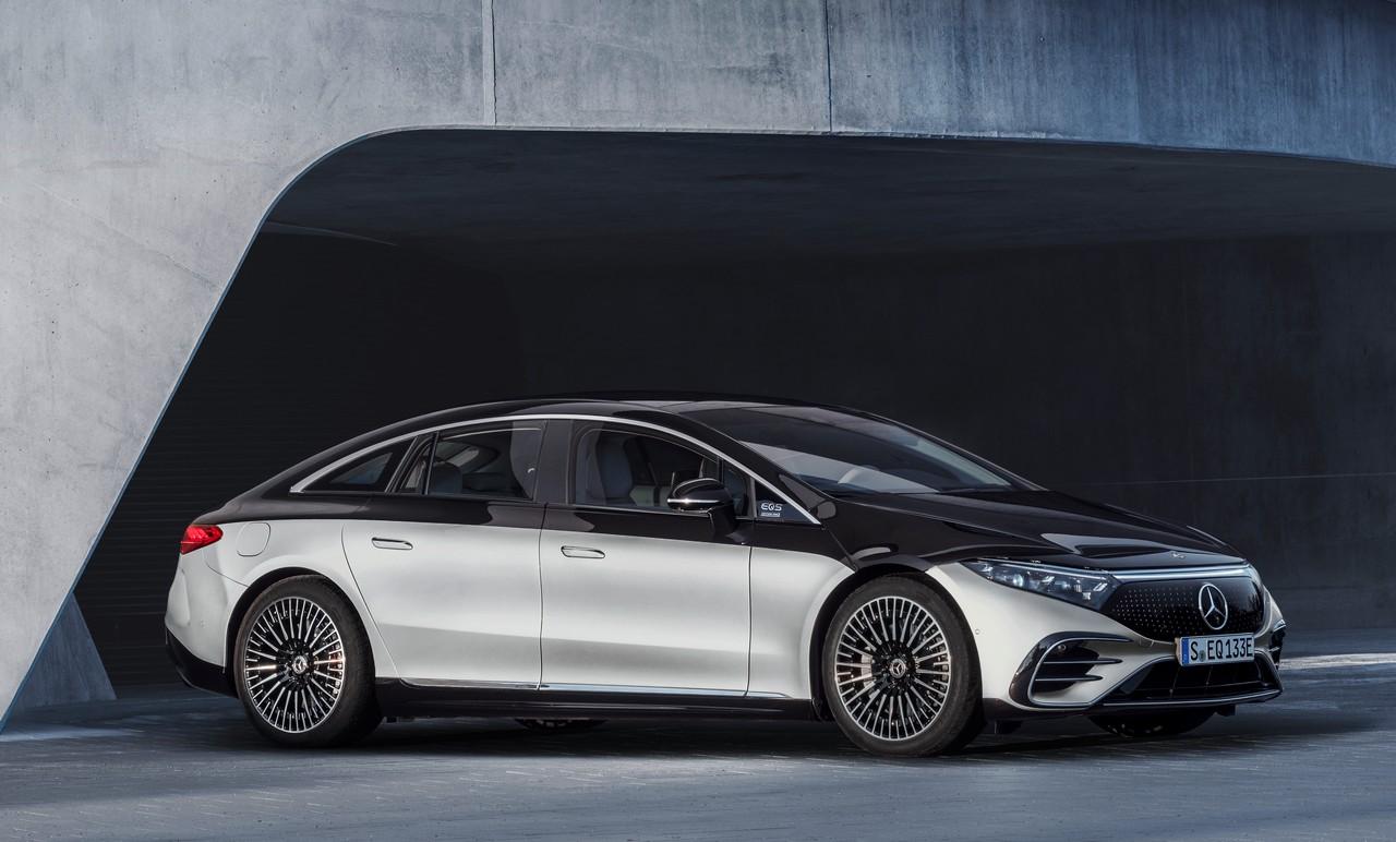 Mercedes EQS dimensioni