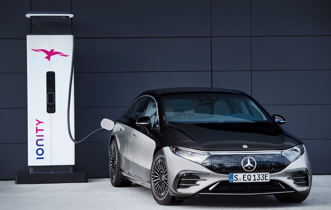 Ricarica Mercedes EQS 2021