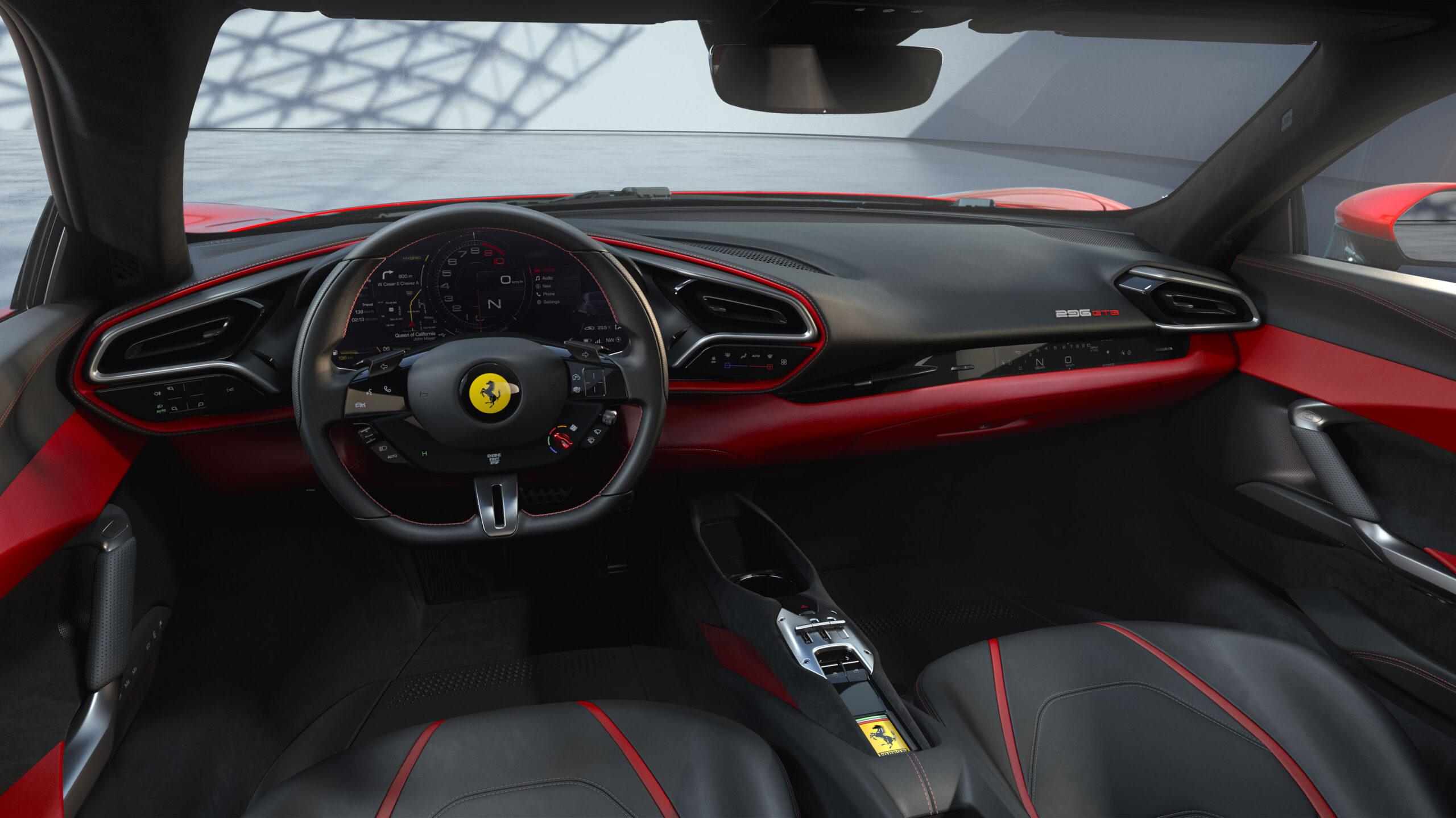 Ferrari 296 GTB Interni